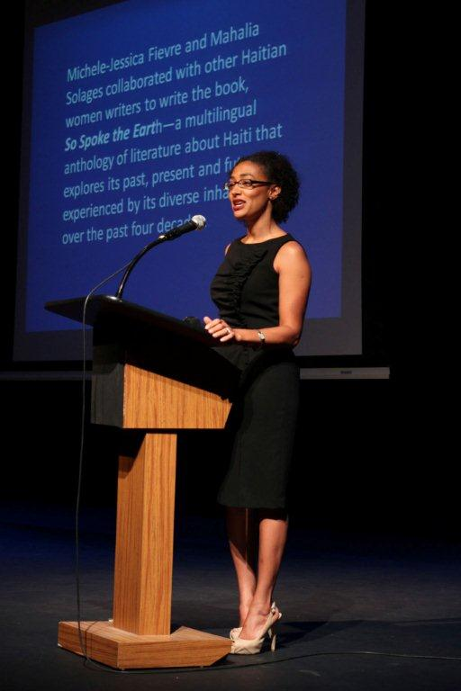 Mahalia Solages at the African-American Research Library and Cultural Center (AARLCC)